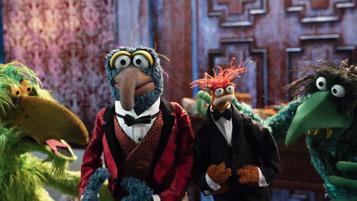 The Muppets take on Halloween with new special film 'Muppets Haunted Mansion'. (Disney/Mitch Haaseth)