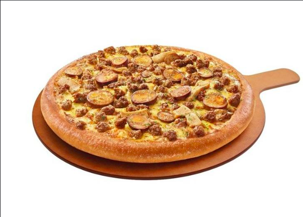 <p>古早味比薩出爐   A new pizza flavor has been concocted!(圖/截自網路)</p>
