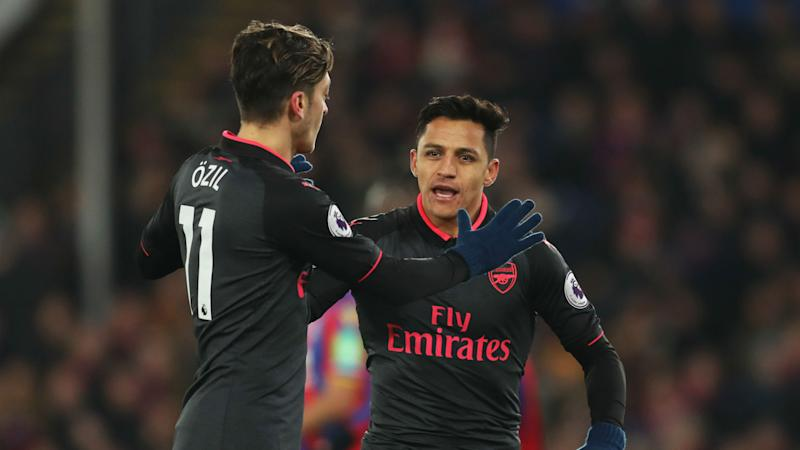 The players that 'snubbed' Alexis Sanchez in Arsenal celebrations