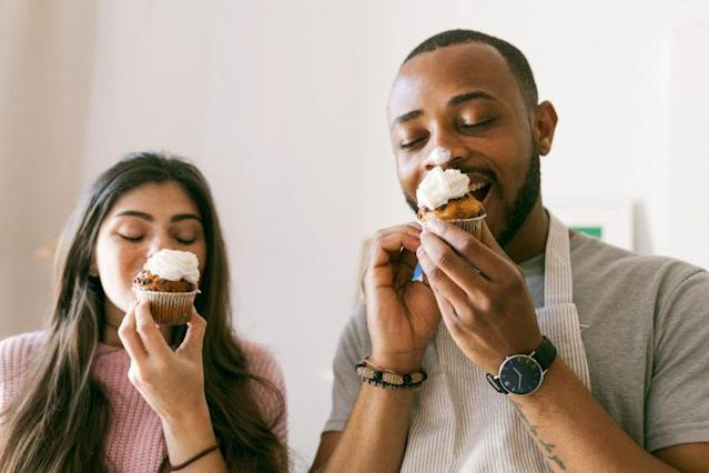 Why do couples often gain weight over time? (Photo: Getty Images)