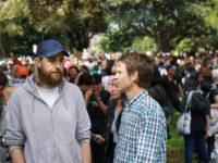 Billionaire Mike Cannon-Brookes and Atlassian attended the Sydney climate strike with one message for politicians: 'Don't @#$% the planet'