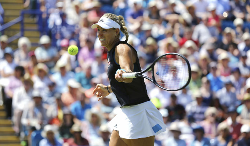 Eastbourne International: Pliskova to face Kerber in final