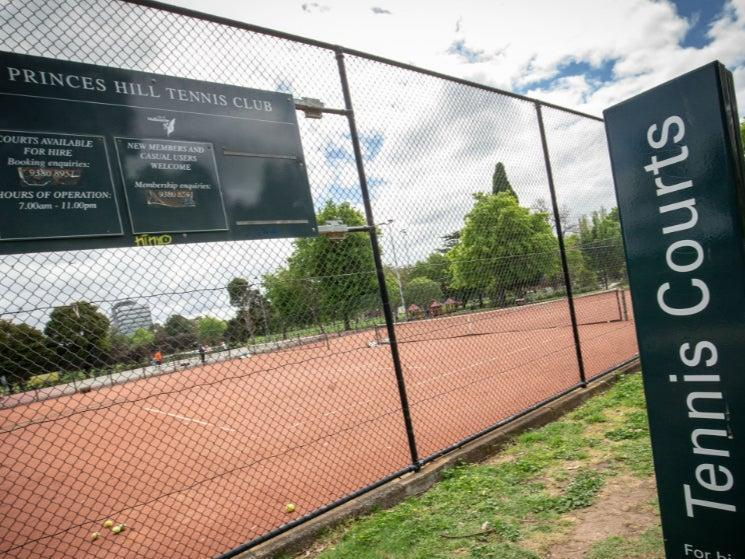 Tennis courts have been closed in recent months amid the coronavirus pandemic (Getty)