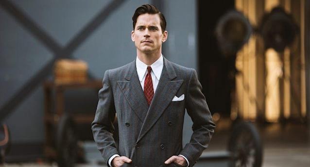 Matt Bomer as Monroe Stahr in <em>The Last Tycoon</em>. (Photo: Amazon Studios)