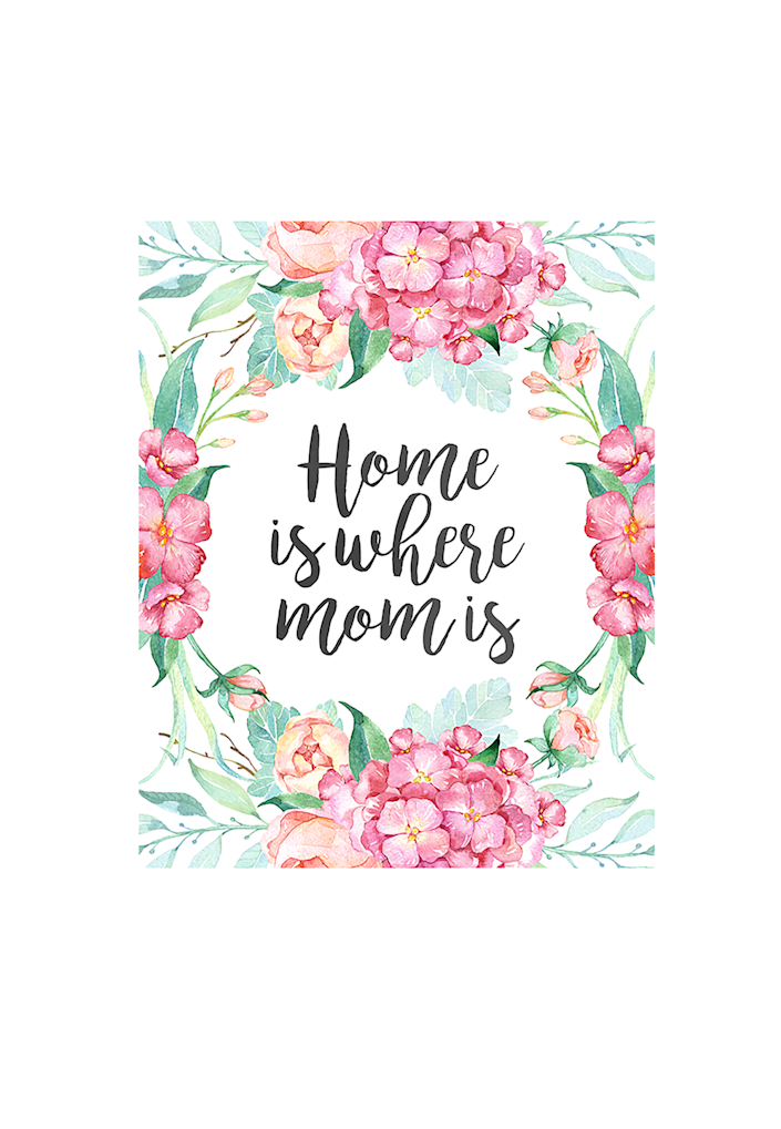 """<p>It's true that wherever mom is, that's where you probably feel most at peace. Mothers have such a special way of making anything feel homey.</p><p><em><strong>Get the printable at the <a href=""""http://thecottagemarket.com/2016/05/free-printable-mothers-day-prints-and-greeting-cards.html"""" rel=""""nofollow noopener"""" target=""""_blank"""" data-ylk=""""slk:Cottage Market"""" class=""""link rapid-noclick-resp"""">Cottage Market</a>.</strong></em></p>"""