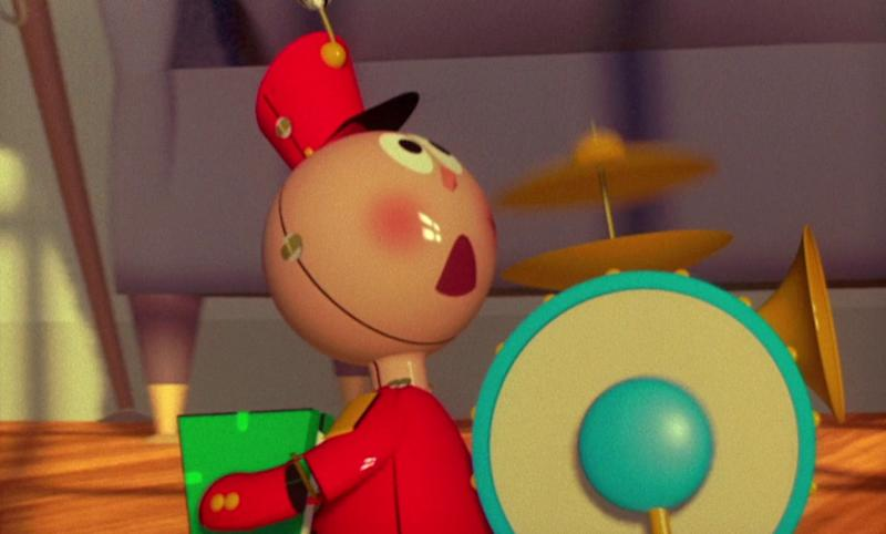 Tin Toy was a progenitor of Toy Story. (Pixar)