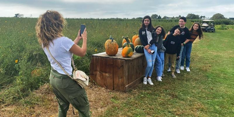J.Lo Is The Ultimate Field Trip Mom In New Family Photos From The Pumpkin Patch