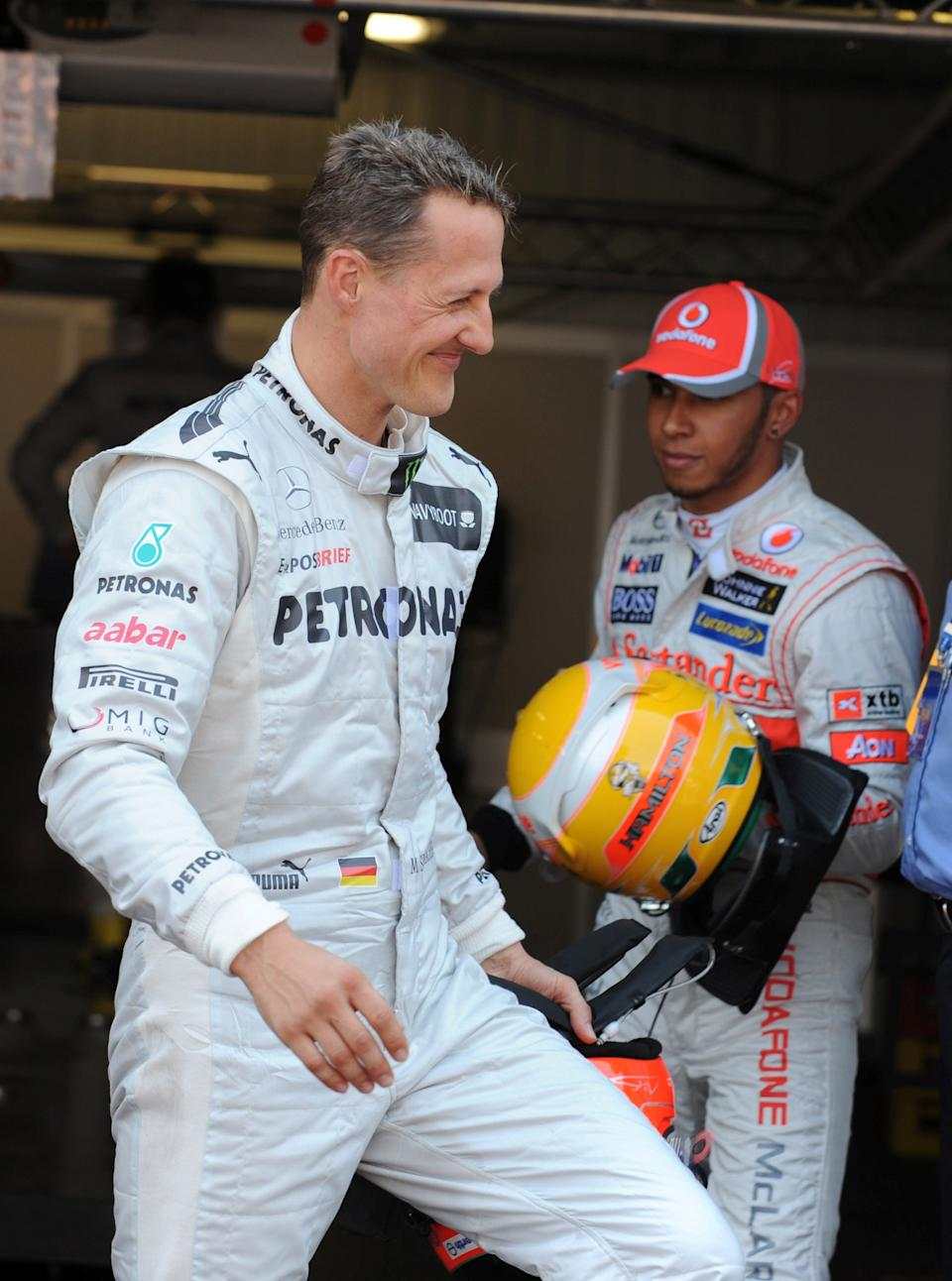 Schumacher only walked away from the sport once he knew his domination was overReuters
