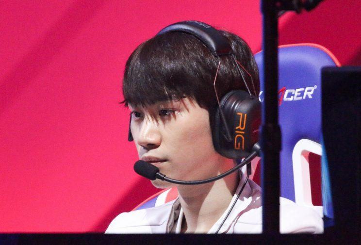 Doinb, the mid laner for JingDong Gaming (Dionne Ng)
