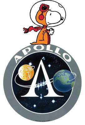 "In the 50th anniversary year of Apollo 11, Peanuts also commemorates the ""Dress Rehearsal""—Apollo 10—that sent peanuts into Space as command and lunar module call signs ""Charlie Brown"" and ""Snoopy"". (CNW Group/DHX Media Ltd.)"