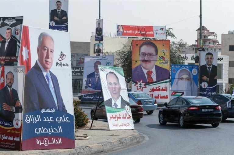 Jordanians vote on Tuesday in parliamentary elections held against the backdrop of an economic crisis which has been sharpened by the coronavirus pandemic