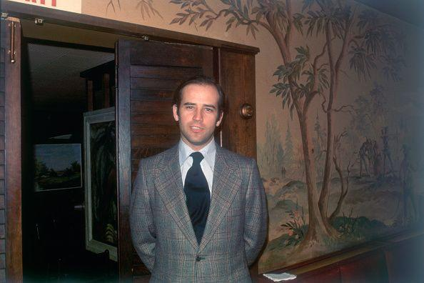<p>Biden in 1973, shortly after he was elected to Congress. </p>