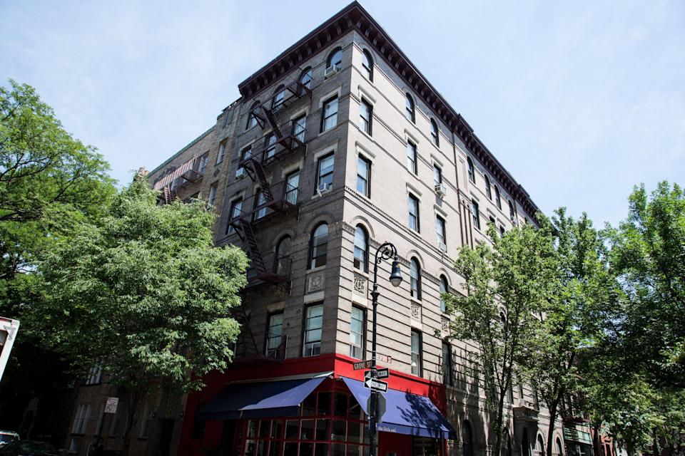 "The cast of ""Friends"" lived in an apartment in this West Village building."