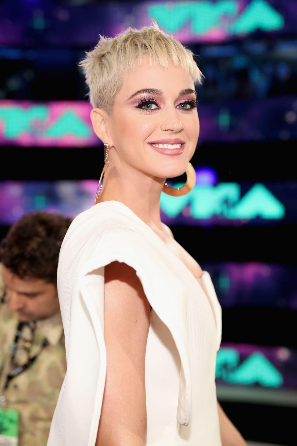 """<p>Not too long after """"Bad Blood"""" came out, Katy released this song. She said it was an """"anti-bullying anthem,"""" but it was, uh, <a href=""""https://www.marieclaire.com/celebrity/news/a28928/taylor-swift-references-you-missed-in-katy-perry-swish-swish-teaser/"""" rel=""""nofollow noopener"""" target=""""_blank"""" data-ylk=""""slk:pretty shady"""" class=""""link rapid-noclick-resp"""">pretty shady</a>. Luckily, <a href=""""https://www.cosmopolitan.com/entertainment/celebs/news/a61450/taylor-swift-katy-perry-feud-timeline/"""" rel=""""nofollow noopener"""" target=""""_blank"""" data-ylk=""""slk:Katy and Taylor Swift eventually made up"""" class=""""link rapid-noclick-resp"""">Katy and Taylor Swift eventually made up</a> ― Katy even <a href=""""https://www.goodhousekeeping.com/life/entertainment/a28067623/taylor-swift-you-need-to-calm-down-cast/"""" rel=""""nofollow noopener"""" target=""""_blank"""" data-ylk=""""slk:appeared in the music video"""" class=""""link rapid-noclick-resp"""">appeared in the music video</a> for Taylor's song """"You Need to Calm Down.""""</p>"""