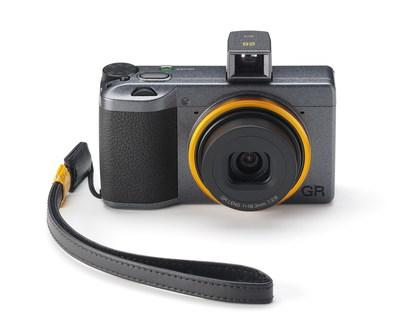 Ricoh Imaging Americas Corporation today announced the launch of the RICOH GR III Street Edition Special Limited Kit. Available in a limited quantity of 3,500 units worldwide, the kit combines the RICOH GR III camera body, finished in a metallic gray color, with a compact, detachable viewfinder and a genuine-leather hand strap, both designed exclusively for this package.