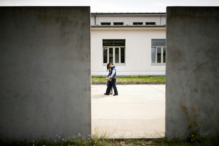 A tour group handpicked by the far-right party Alternative for Germany touched off a scandal while visiting the former Nazi concentration camp Sachsenhausen (AFP Photo/Odd ANDERSEN)
