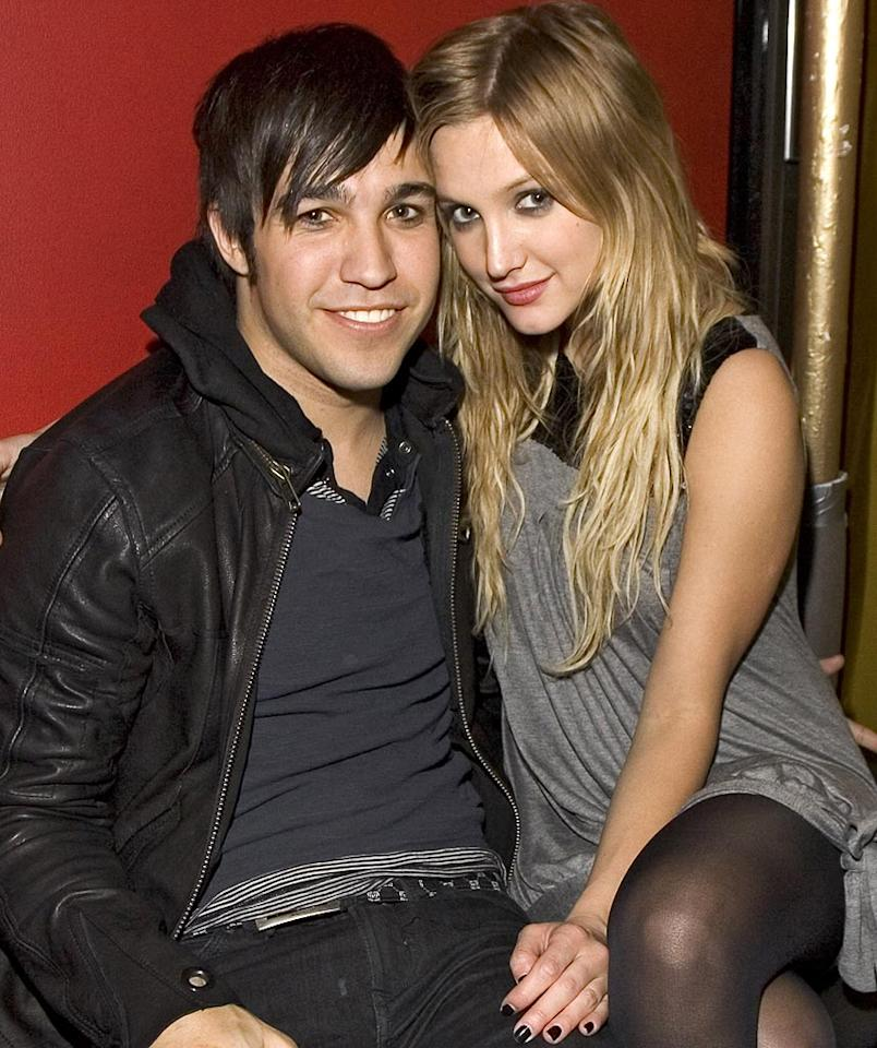 "Pete Wentz and Ashlee Simpson proved many naysayers wrong when they wed. Brian Ach/<a href=""http://www.wireimage.com"" target=""new"">WireImage.com</a> - April 30, 2007"