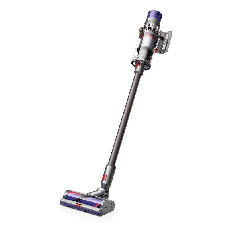 """<p><strong>Dyson</strong></p><p>wayfair.com</p><p><strong>$499.90</strong></p><p><a href=""""https://go.redirectingat.com?id=74968X1596630&url=https%3A%2F%2Fwww.wayfair.com%2Fappliances%2Fpdp%2Fdyson-v10-animal-cordless-vacuum-cleaner-xys10019.html&sref=https%3A%2F%2Fwww.popularmechanics.com%2Fhome%2Fg37679919%2Fbest-dyson-vacuums%2F"""" rel=""""nofollow noopener"""" target=""""_blank"""" data-ylk=""""slk:Shop Now"""" class=""""link rapid-noclick-resp"""">Shop Now</a></p><p>If you regularly find balls of pet hair hiding in the corners of your home, the Dyson V10 Animal makes it quick and easy to clean up after your animals. </p><p>This cordless vacuum runs for up to 60 minutes per charge, and it weighs just under 6 pounds, making it easy to move around your home. It comes with several attachments, including a mini motorized tool that will pull pet hair off furniture, and the torque drive cleaner head has stiff bristles that drive dirt and hair out of carpets. </p><p>The Dyson V10 Animal converts into a handheld model as needed, and it comes with a docking station for convenient storage. It's ideal for picking up pet hair on a daily basis, as well as deep-cleaning carpets, making it a top choice for pet owners.</p>"""