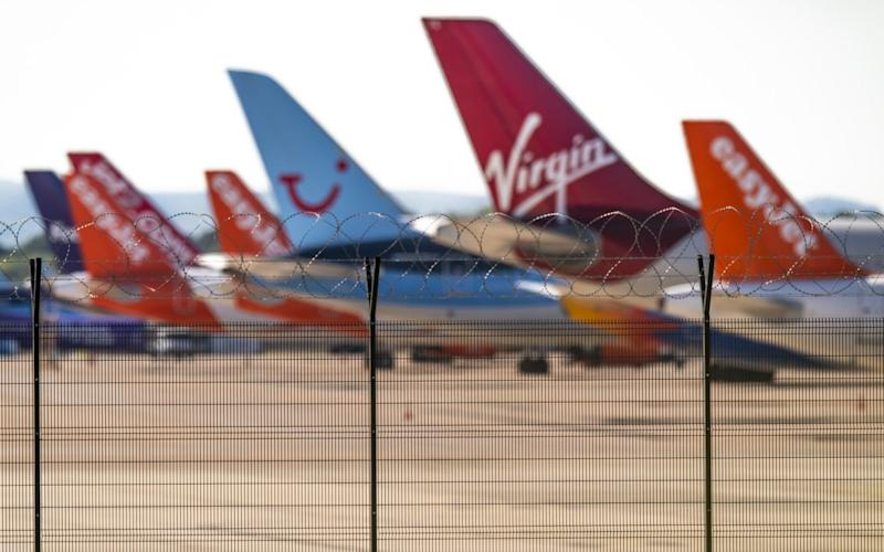 Grounded Airlines At Manchester Airport - Bloomberg