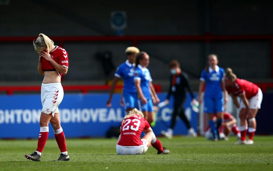 Bristol City have been relegated after four seasons in the top flight - Getty Images