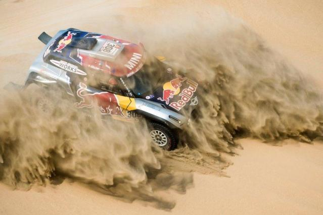 "#308 X-Raid Mini JCW Team: Cyril Despres, Jean-Paul Cottret <span class=""copyright"">Red Bull Content Pool</span>"
