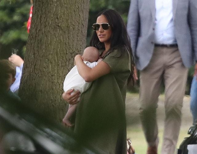 Archie and Meghan