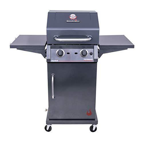 """<p><strong>Char-Broil</strong></p><p>amazon.com</p><p><a href=""""https://www.amazon.com/dp/B08HJN2SC5?tag=syn-yahoo-20&ascsubtag=%5Bartid%7C2089.g.36490432%5Bsrc%7Cyahoo-us"""" rel=""""nofollow noopener"""" target=""""_blank"""" data-ylk=""""slk:Shop Now"""" class=""""link rapid-noclick-resp"""">Shop Now</a></p><p><strong><del>$279.99</del> $257.04 (8% off)</strong><br><br>Get this no-frills grill from Char-Broil for less than $300! You'll get 310 square inches of space to grill your meats or veggies, and two side shelves to plate your meals or rest your tools. There's an electronic ignition for quick and easy lighting, and a lid-mounted temperature gauge monitors inside temperature.</p>"""