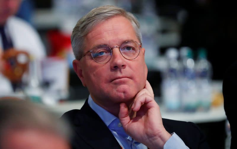 German conservative Roettgen says he wants to be chancellor