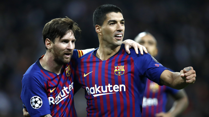 Messi hits brace to salvage point for Barcelona