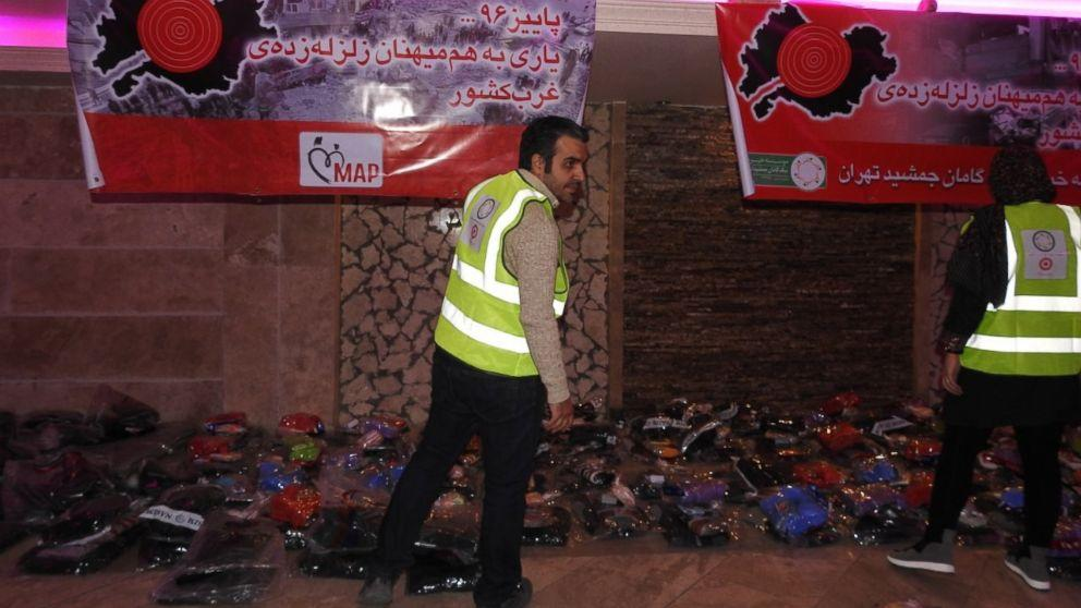 Earthquake-ravaged Iranians receive aid with help from Facebook (ABC News)