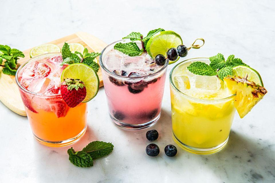 """<p>You can make a keto-friendly """"Splendito"""" that's delicious, low on carbs, and super simple to make. You can try out this step-by-step from <a href=""""http://www.alwaysorderdessert.com/2012/05/splendito-low-carb-mojito-recipe.html#.Ucdw0bG9KSM"""" rel=""""nofollow noopener"""" target=""""_blank"""" data-ylk=""""slk:Always Order Dessert"""" class=""""link rapid-noclick-resp"""">Always Order Dessert</a>.</p>"""