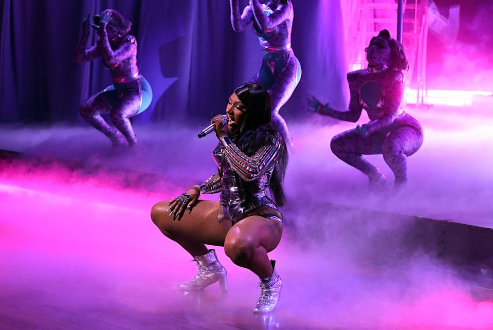 File image: Megan Thee Stallion performs onstage during the 63rd Annual GRAMMY Awards (Getty Images for The Recording A)