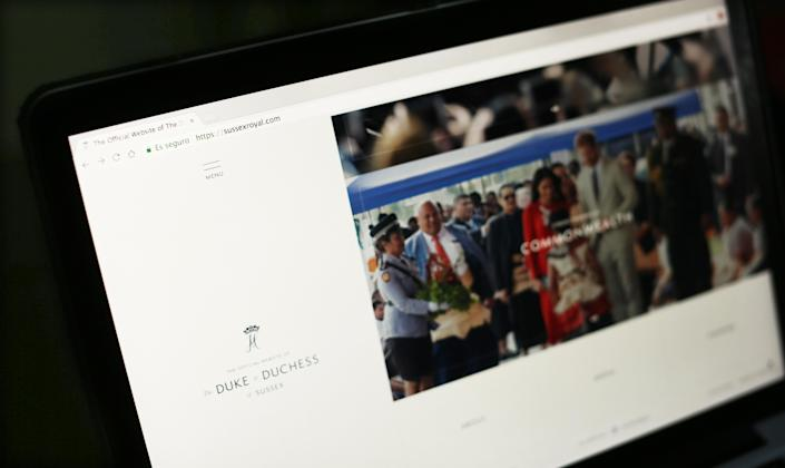 Harry and Meghan want to communicate via their Sussex Royal website, and using Instagram to put out photos. (Isabel Infantes/EMPICS Entertainment)
