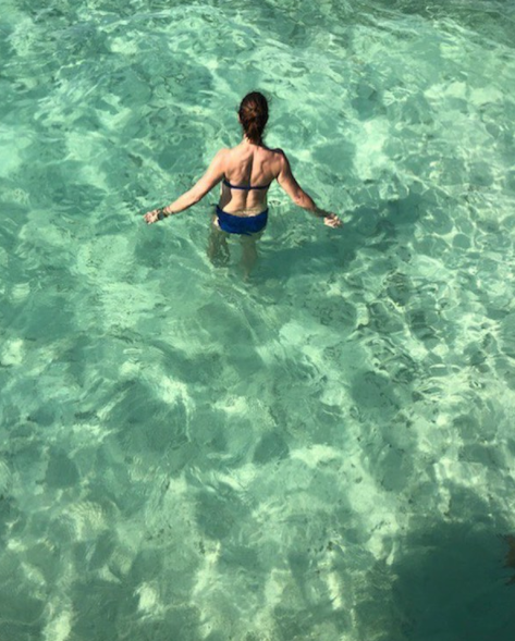 Another Blue Lagoon, the actress captioned the pic. Photo: Instagram/brookeshields
