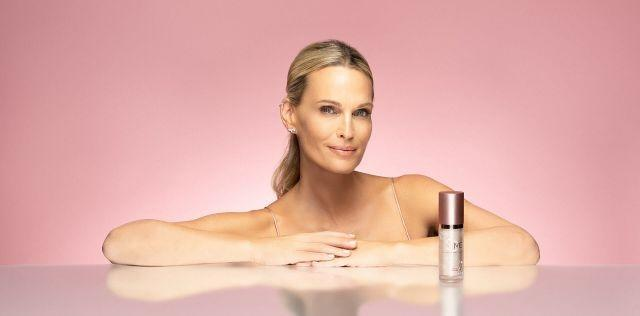 Actress Molly Sims is the new face of Aesthetics Biomedical skincare