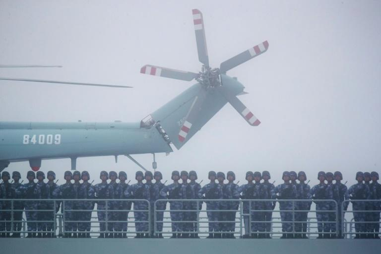China is rapidly modernising its army, spending big on state-of-the-art weaponry