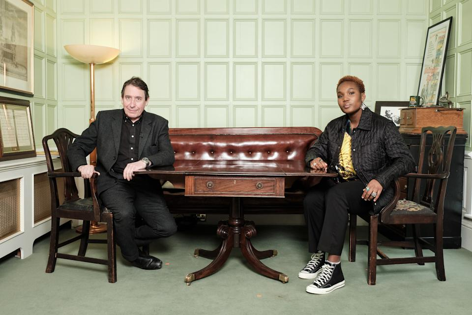 Later... with Jools Holland -  Jools Holland, Arlo Parks - (BBC/Michael Leckie)