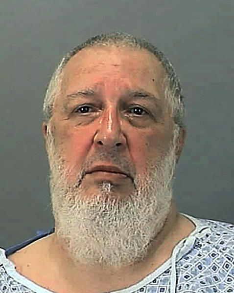 In this undated photo provided by the Summit County Sheriff Department shows John Wise. Wise, 66, is suspected of the mercy killing of his wife, who was shot at her bedside in the ICU unit of Akron General Medical Center Saturday. She died the next morning. Wide seemed perplexed at the charge when he stood before a judge Tuesday, Aug. 7, 2012 on an aggravated attempted murder charge, asking whether his wife was indeed dead. (AP Photo/Summit County Sheriff Department)