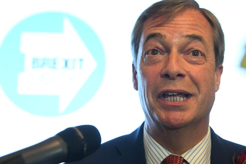 Nigel Farage has caused controversy with his comments about Oldham (Picture: PA)