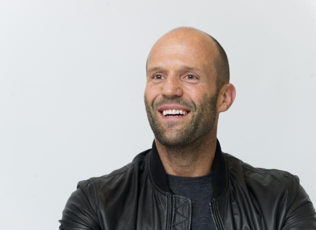 <p>He's an action star which appears to have done wonders for Jason Statham's looks – he's turning the big 5-0 this summer (Photo: Rex) </p>