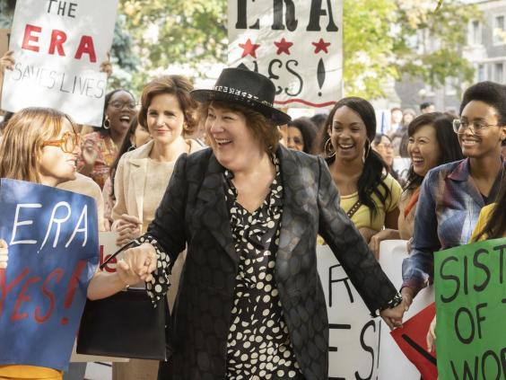 Acclaimed character actor Margo Martindale plays lawyer and activist Bella Abzug (FX)