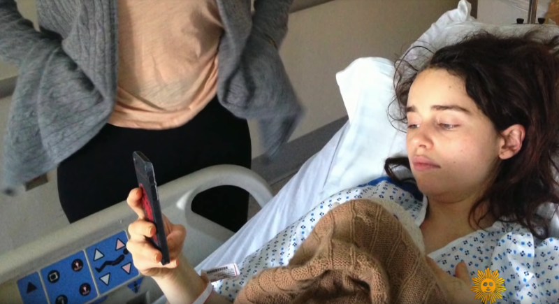 Emilia Clarke suffered brain aneurysms and nearly died (Credit: Emilia Clarke)