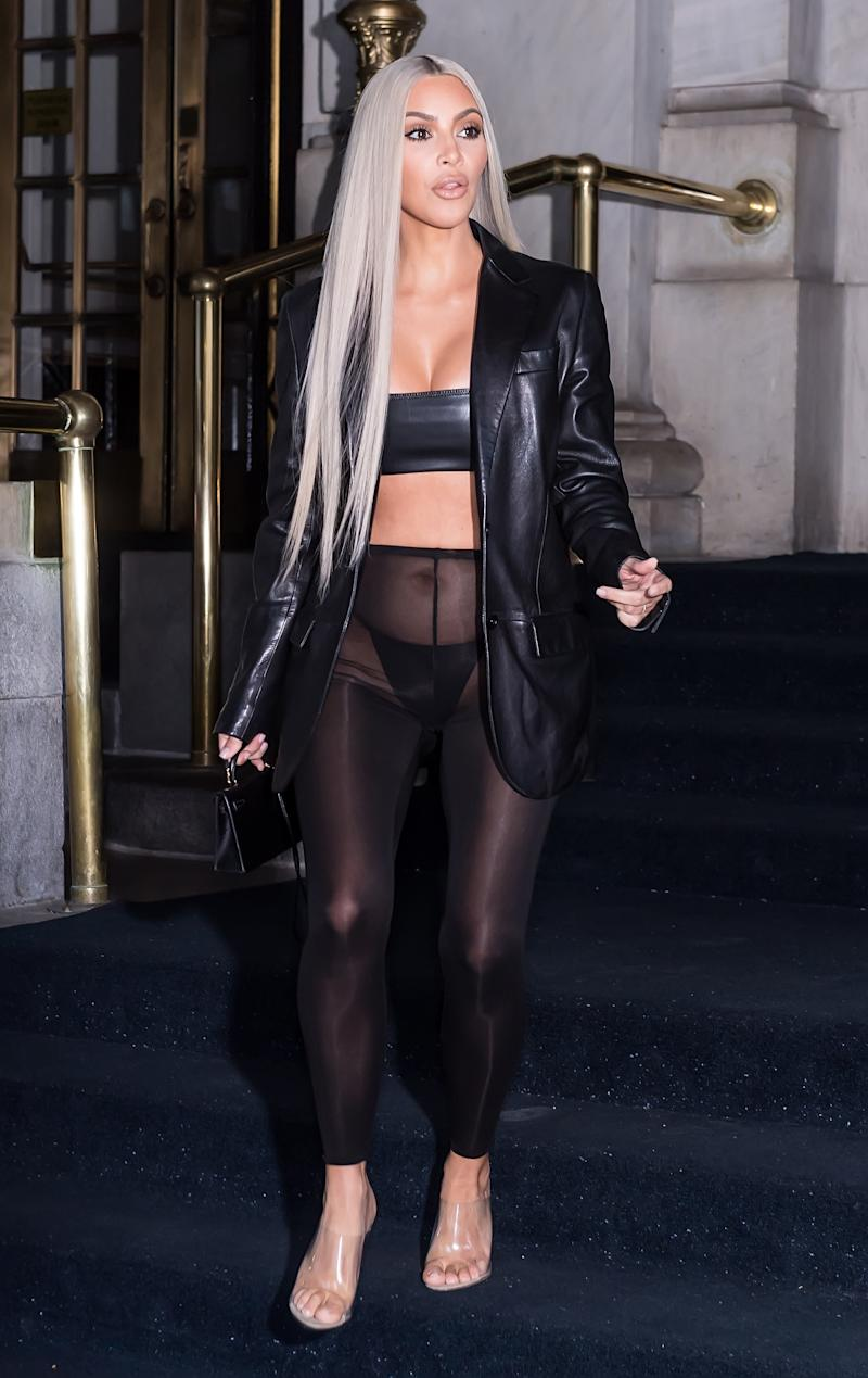 Are those leggings or pantyhose? (Gilbert Carrasquillo via Getty Images)