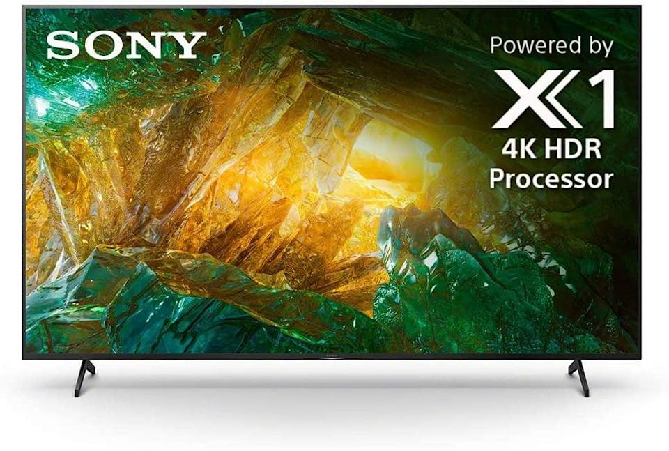 <p><span>Sony X800H 55-Inch TV: 4K Ultra HD Smart LED TV With HDR and Alexa Compatibility</span> ($698, originally $800)</p>