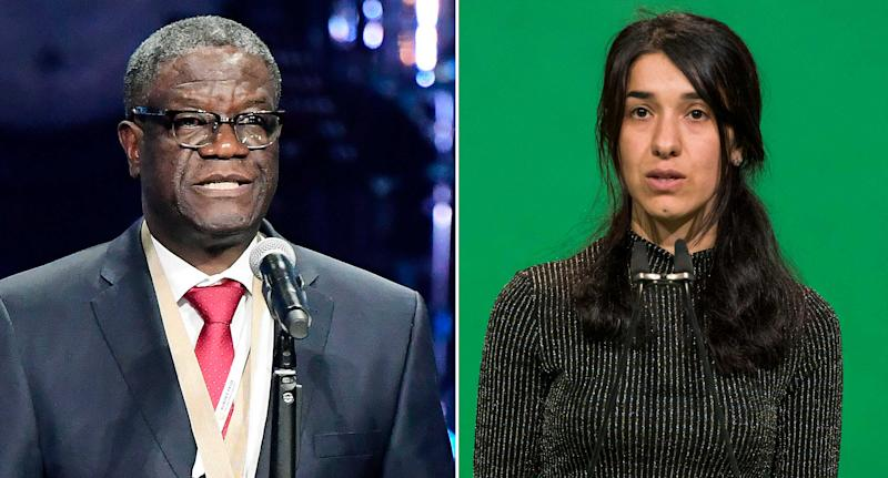 Nobel peace prize 2018 winners: who are Denis Mukwege and Nadia Murad?