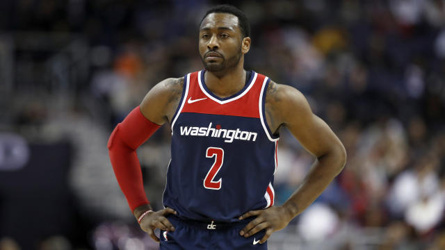 "Wizards guard <a class=""link rapid-noclick-resp"" href=""/nba/players/4716/"" data-ylk=""slk:John Wall"">John Wall</a> is a four-time All-Star. (AP)"