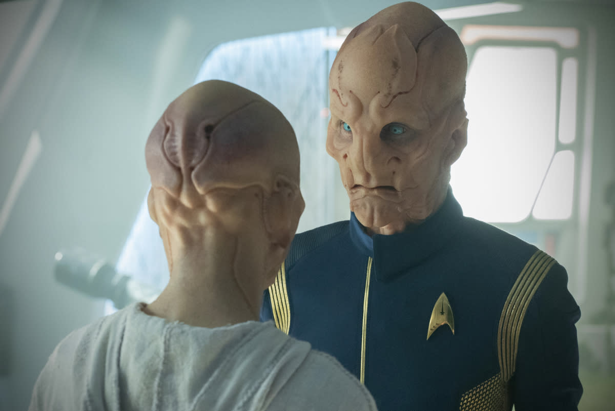 Star Trek Discovery': Doug Jones Says All That Makeup Is the Easy Part