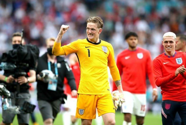 Jordan Pickford has kept five clean sheets from five games during the tournament.