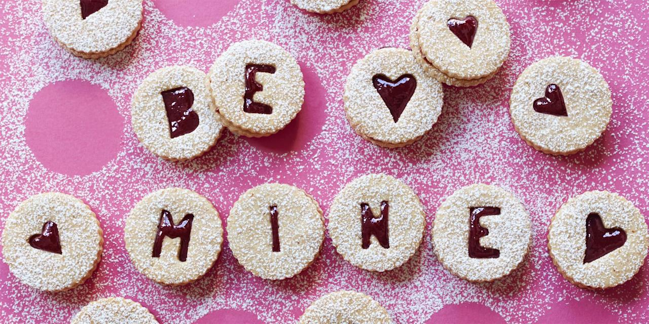 Write a Love Note to Your Sweetie With These Cherry Linzer Cookies