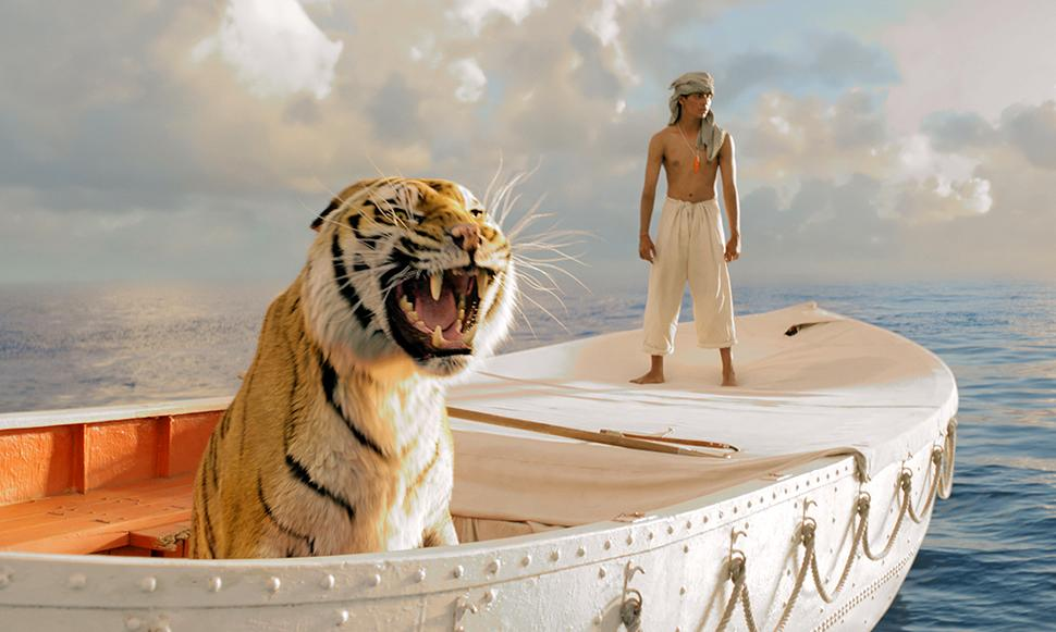 """Life of Pi"" was hands down the best movie of the year about a guy in a boat with a tiger. Ang Lee's metaphysical 3D spectacular was great to look at but never reached the transcendent head trip that it aspired to. This flick wasn't the last 20 minutes of ""2001"" no matter how gorgeous the imagery. Instead of this movie, it would have been great to see ""The Master,"" ""Moonrise Kingdom"" or ""Skyfall"" get the nod."